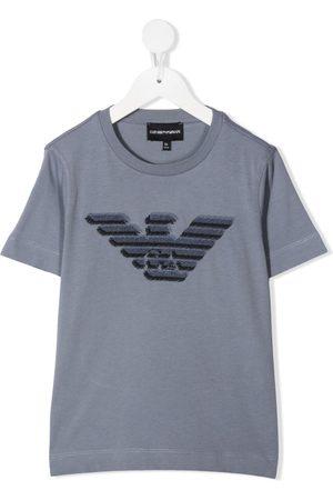 Emporio Armani Logo print T-shirt - Grey