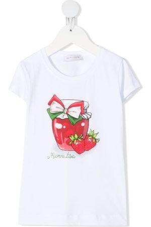 MONNALISA Graphic-print short-sleeve T-shirt