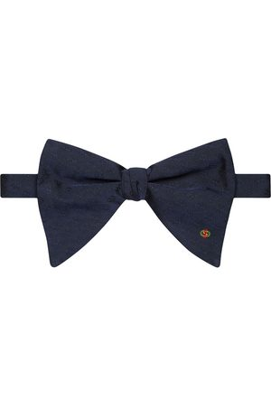 Gucci Interlocking G embroidered bow tie