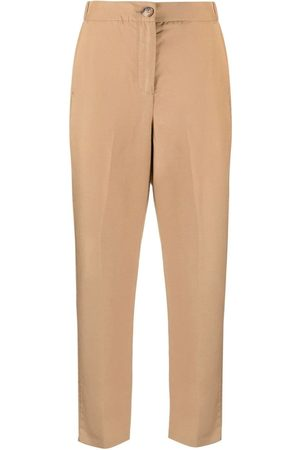 Liu Jo Inset-pocket straight trousers - Neutrals