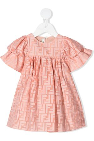 Fendi FF-pattern dress