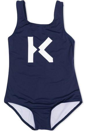 Kenzo K-print swimsuit
