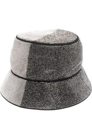 KARA Crystal-embellished hat
