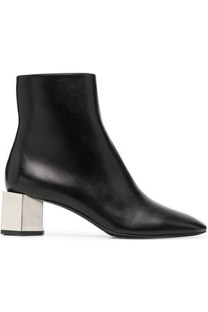 OFF-WHITE Women Ankle Boots - Metallic-heel ankle boots