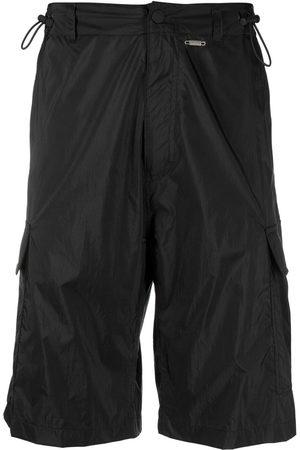 032c Logo-print knee-length cargo shorts