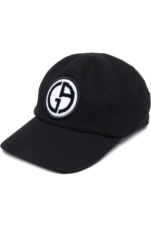 Armani Men Caps - Logo patch baseball cap