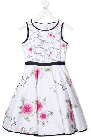 MONNALISA Girls Printed Dresses - Summer vibes-print dress
