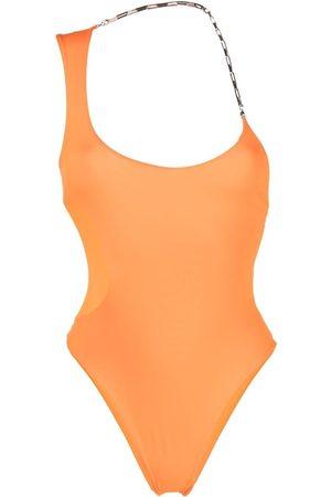 The Attico Chain-strap swimsuit