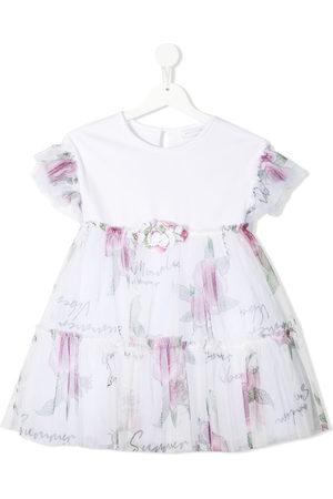 MONNALISA Girls Casual Dresses - Floral-print mini dress