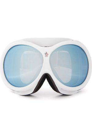 Moncler Logo-jacquard Strap Ski Goggles - Womens