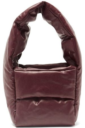 Kassl Editions Monk Small Coated-canvas Bag - Womens - Burgundy