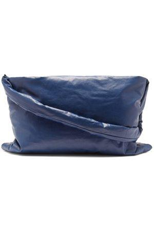 Kassl Editions Square Small Shoulder Bag - Womens - Navy
