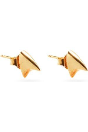 DOMINIC JONES Thorn 18kt -plated Sterling-silver Earrings - Mens