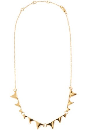 DOMINIC JONES Thorn 18kt -plated Sterling-silver Necklace - Mens