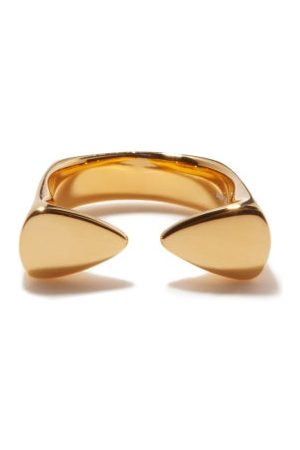 Dominic Jones 18kt -plated Recycled Sterling-silver Ring - Womens
