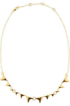 Dominic Jones Women Necklaces - Thorn 18kt -plated Recycled-silver Necklace - Womens