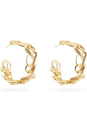COMPLETEDWORKS Twisted 14kt -plated Sterling-silver Earrings - Womens