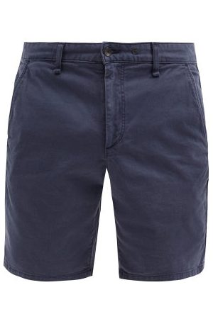 RAG&BONE Classic Cotton-blend Twill Chino Shorts - Mens - Navy