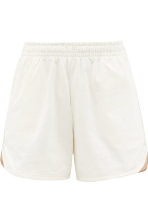 Vaara Teller Wide-leg Cotton-jersey Running Shorts - Womens