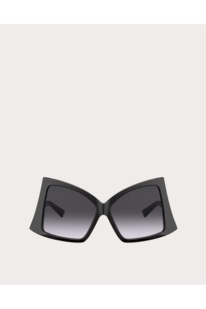 VALENTINO Butterfly Sunglasses In Acetate With Roman Stud Women /gradient Acetate 100% OneSize