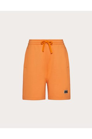 VALENTINO Vltn Tag Bermuda Shorts Man Cotton 94% L