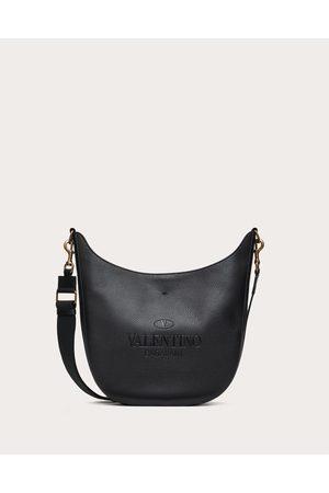 VALENTINO GARAVANI Valentino Garavani Identity Leather Hobo Bag Man 100% Pelle Di Vitello - Bos Taurus OneSize