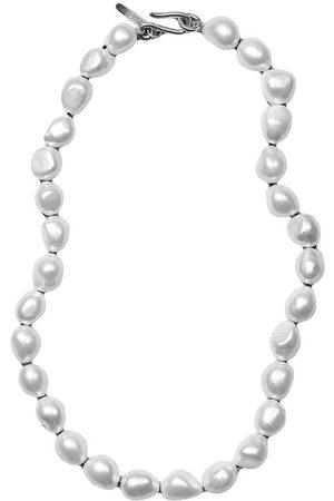 Sophie Buhai Women Necklaces - Simple Baroque Pearl Neckace