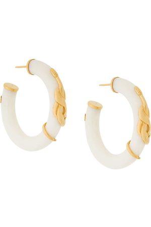 Gas Bijoux Women Earrings - Cobra hoop earrings