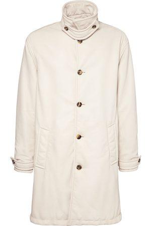 Bottega Veneta Men Puffer Jackets - Padded Soft Leather Coat