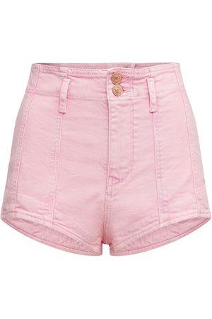 Isabel Marant Deversonbb Stretch Denim Shorts