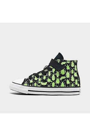 Converse Casual Shoes - Boys' Toddler Chuck Taylor All Star 1V Hi Glow Bugs Casual Shoes in / Size 4.0 Canvas