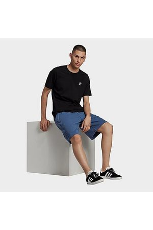 adidas Men Shorts - Men's Originals R.Y.V. Abstract Trefoil Shorts in /Crew Size Small 100% Cotton