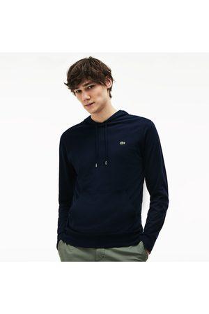Lacoste T-shirts - Men's Hooded Cotton T-shirt - M - 4