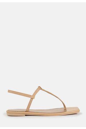 Missguided Women Sandals - T Bar Flat Sandals