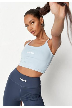 Missguided Women T-shirts - Recycled Msgd Strappy Gym Tank Top