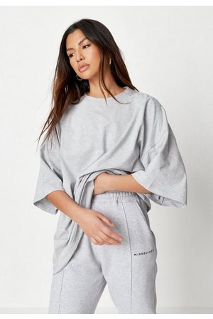Missguided Drop Shoulder T Shirt