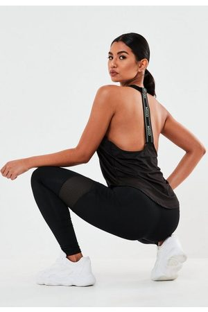 Missguided Active Msgd Tape Tank Top