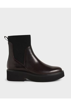 CHARLES & KEITH Ankle Sock Boots