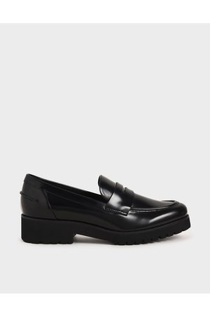 Charles & Keith Women Platforms - Platform Penny Loafers