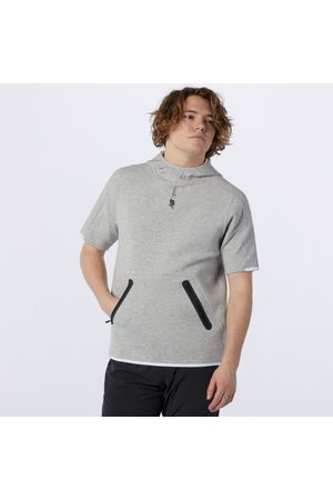 New Balance Men's Fortitech Fleece Short Sleeve Hoodie