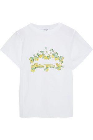 Shrimps Women Short Sleeve - Woman Livia Printed Cotton-jersey T-shirt Size L