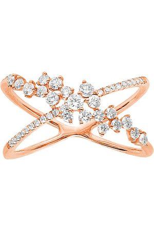 DJULA Ring - fairytale cross diamonds