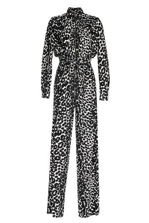 Tom Ford Ikat leopard print jumpsuit