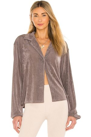 LPA Hallan Top in Grey,Taupe.