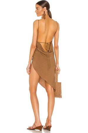 Amanda Uprichard Women Party Dresses - X REVOLVE Janet Dress in Brown.