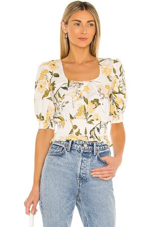 BB Sweet Memory Top in Ivory,Yellow.