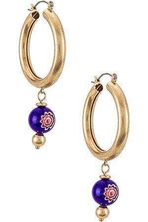 8 Other Reasons Women Earrings - Hoop Earrings in Metallic .