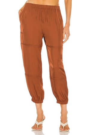 THEORY Slim Cargo Pant in Rust.