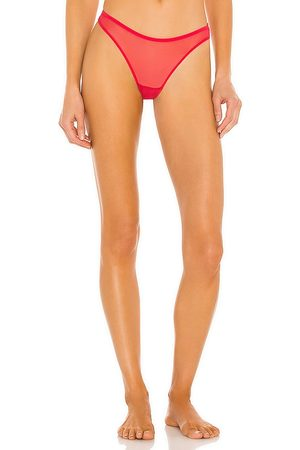 Only Hearts Basic Thong in Red.