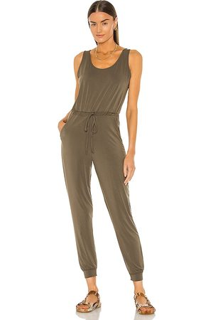 Commando Butter Tank Jumpsuit in Army.